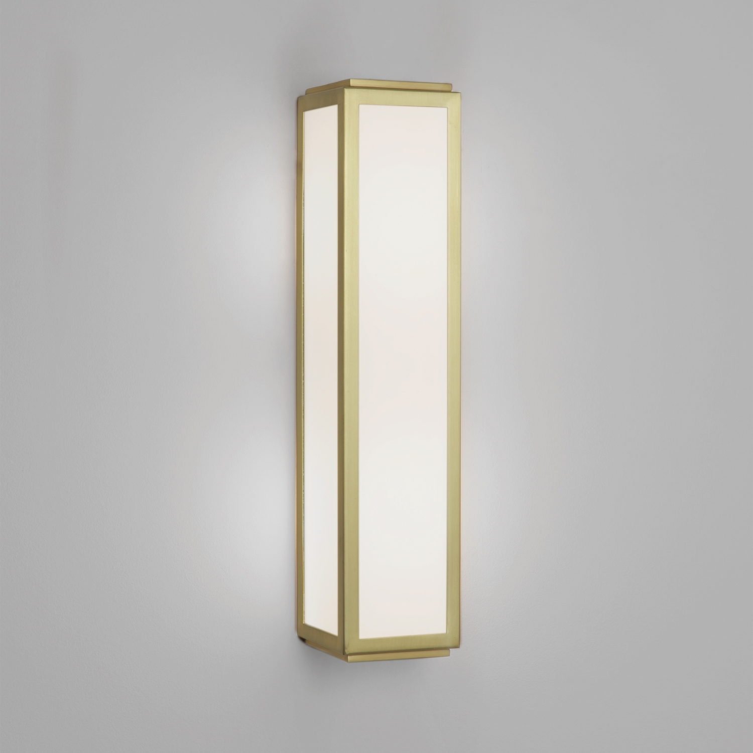 ASTRO MASHIKO 360 classic Bathroom wall light 2 x 40W E14 matt gold Thumbnail 1