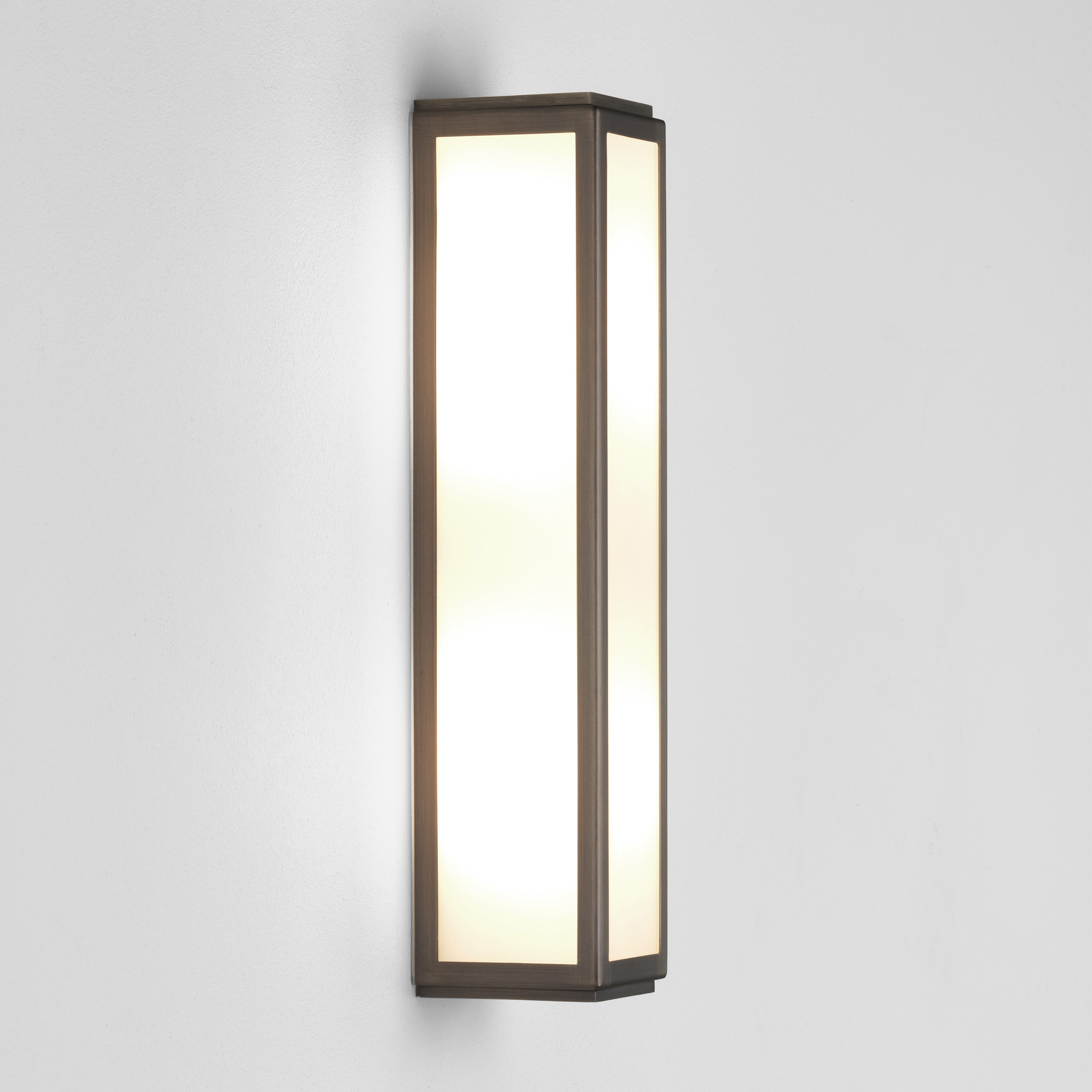 ASTRO Mashiko 360 Bathroom bronze LED wall light 6.4W 3000K warm white