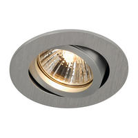 Intalite NEW TRIA 68 GU10 ROUND downlight, alu brushed, 50W