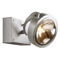 Intalite KALU 1 wall and ceiling light, alu brushed, QRB111 , max. 50W