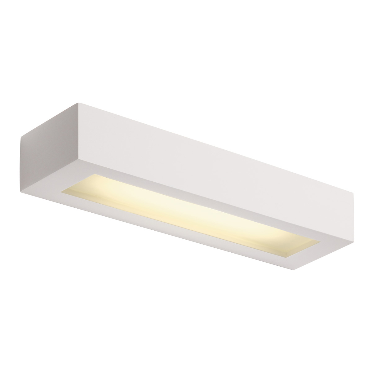 Details About Intalite Wall Light Gl 103 T5 Square White Plaster 8w