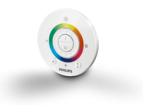 Philips LivingColors Iris LED colour changing table lamp clear remote Euro plug Thumbnail 6