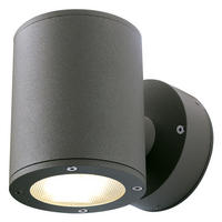 Intalite exterior IP44 SITRA WALL UP-DOWN wall light anthracite 2xGX53 2x9W IP44