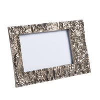 "Endon Langport 6"" x 4"" photo frame Antique nickel H: 140mm W: 210mm D: 15mm"