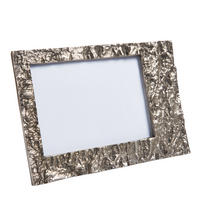 "Endon Langport 7"" x 5"" photo frame Antique nickel H: 165mm W: 245mm D: 15mm"