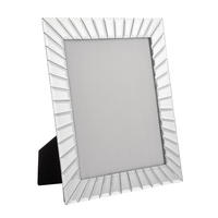 "Endon Forcola 10"" x 8"" photo frame Mirrored glass H: 330mm  W: 275mm  D: 15mm"