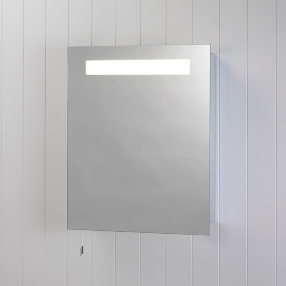 Astro Modena 0349 deluxe low energy illuminated mirror cabinet 15W T8 Thumbnail 1