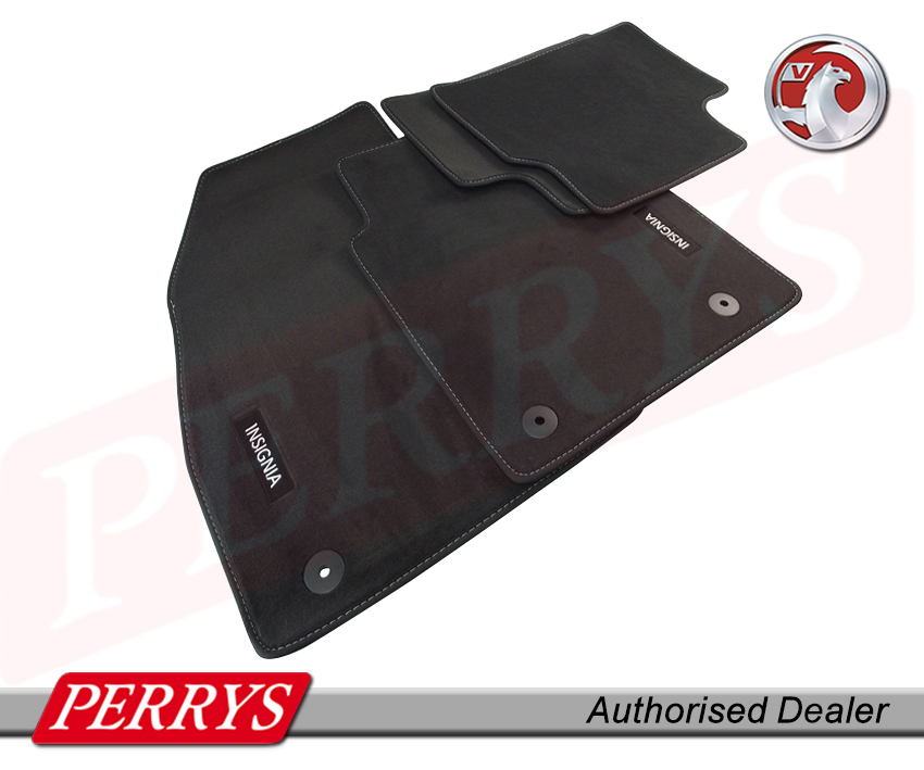 vauxhall insignia a velour black front rear floor car mats. Black Bedroom Furniture Sets. Home Design Ideas