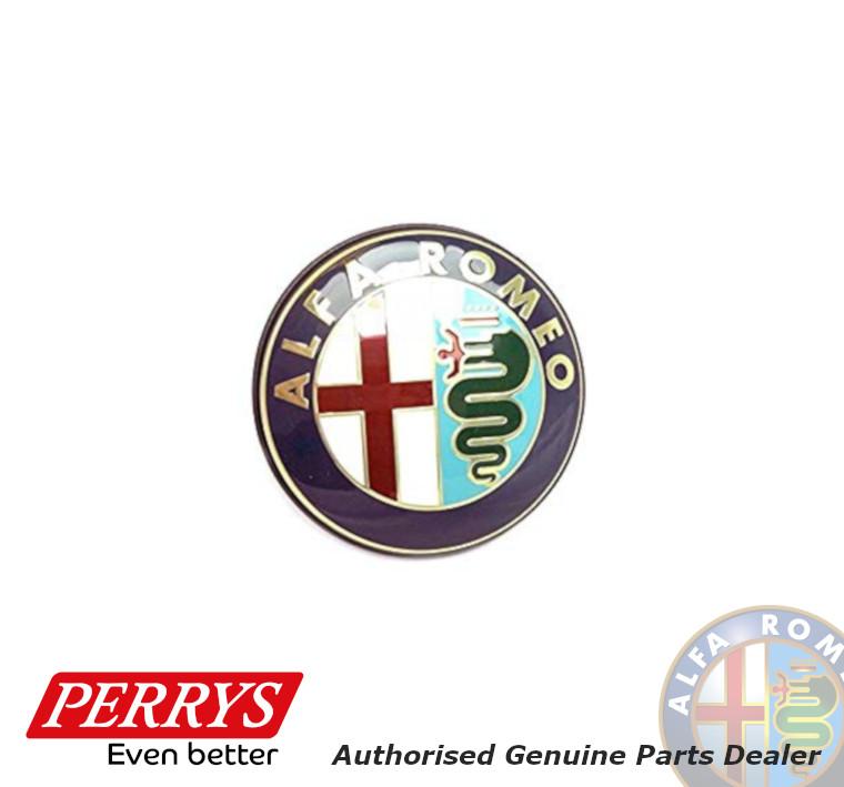 Alfa Romeo 74mm Emblem RED für 147 156 159 GT Brera Mito Front Rear Marks logo
