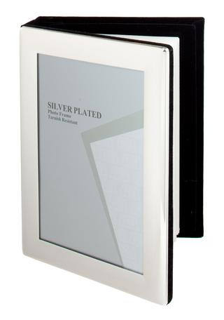 "Silver Plated Picture Photo Frame Album 4"" X 6"", 5"" X 7"" By Unity Thumbnail 1"
