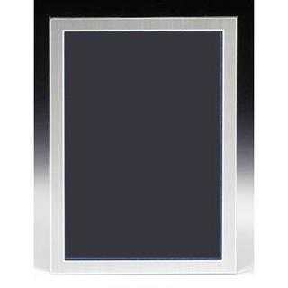 Satin Silver A4 Certificate Picture Photo Frame Portrait Landscape Thumbnail 1