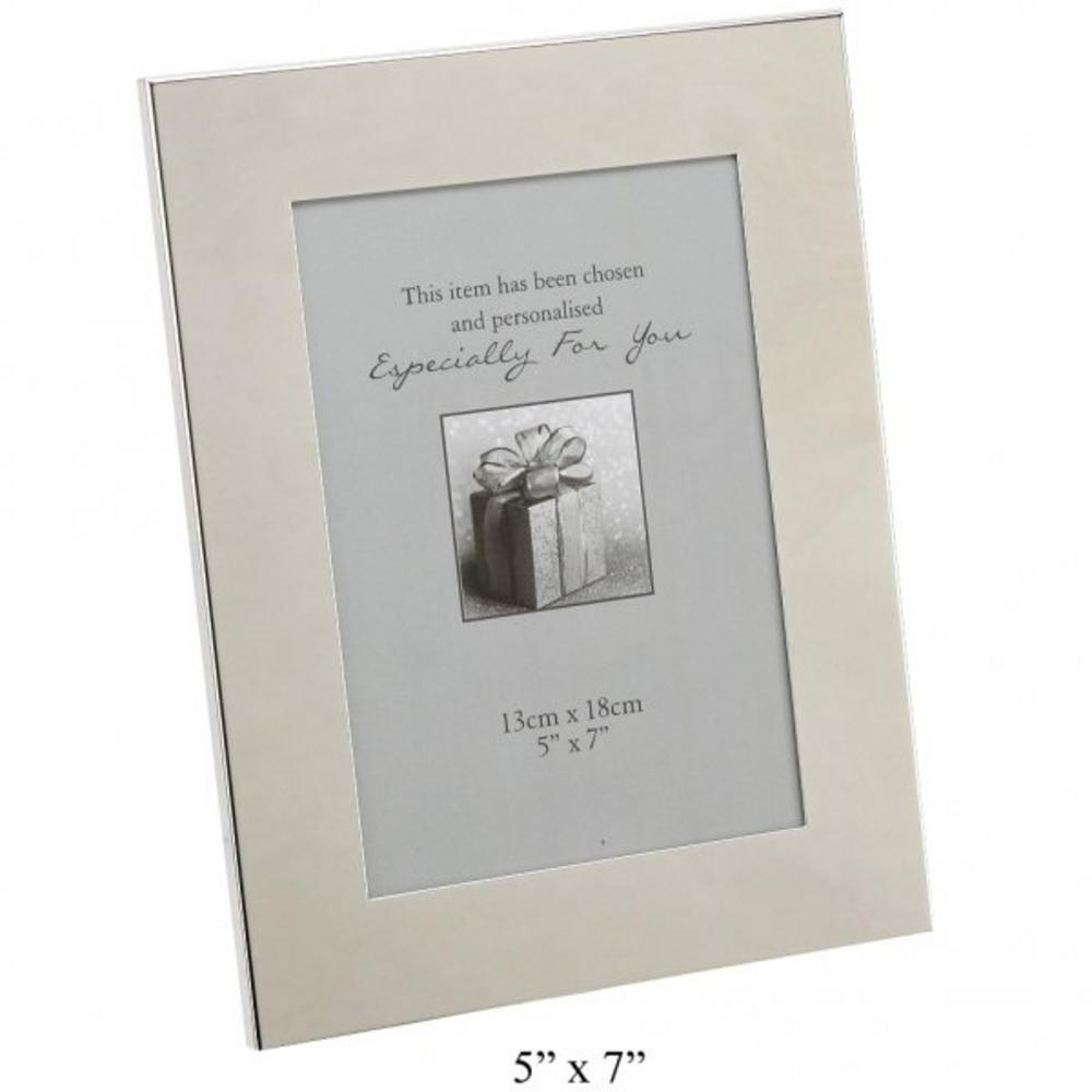 """Wide Border Photo Frame 4"""" X 6""""  Silver Plated Picture Brand New Gift"""