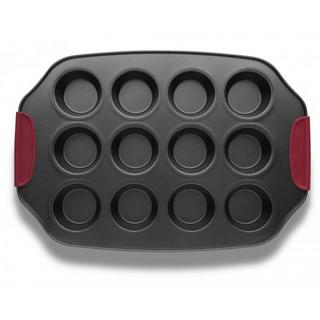 Twelve Muffin Baking Tray with Silicone Grips Thumbnail 1