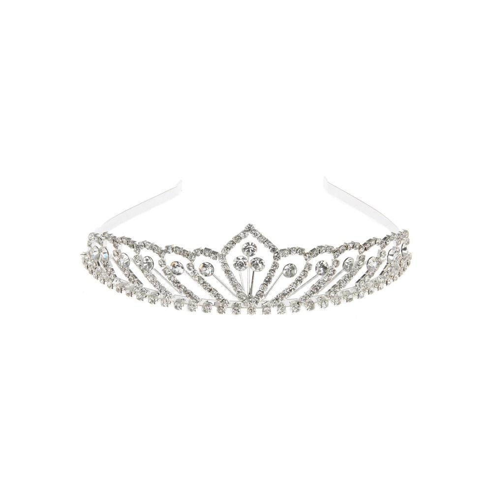 Equilibrium High Tiara Three Centre Crystal Diamante Gift