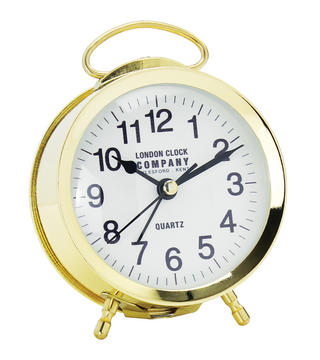 Retro Gold Alarm Clock Thumbnail 1