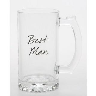 Best Man Standard Celebration Tankard Ideal Wedding Gift Toast Thumbnail 1