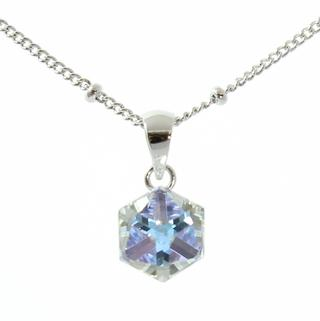 Pure By Coppercraft Swarovski Clear Diamante Pendant Necklace - Perfect Gift Thumbnail 1