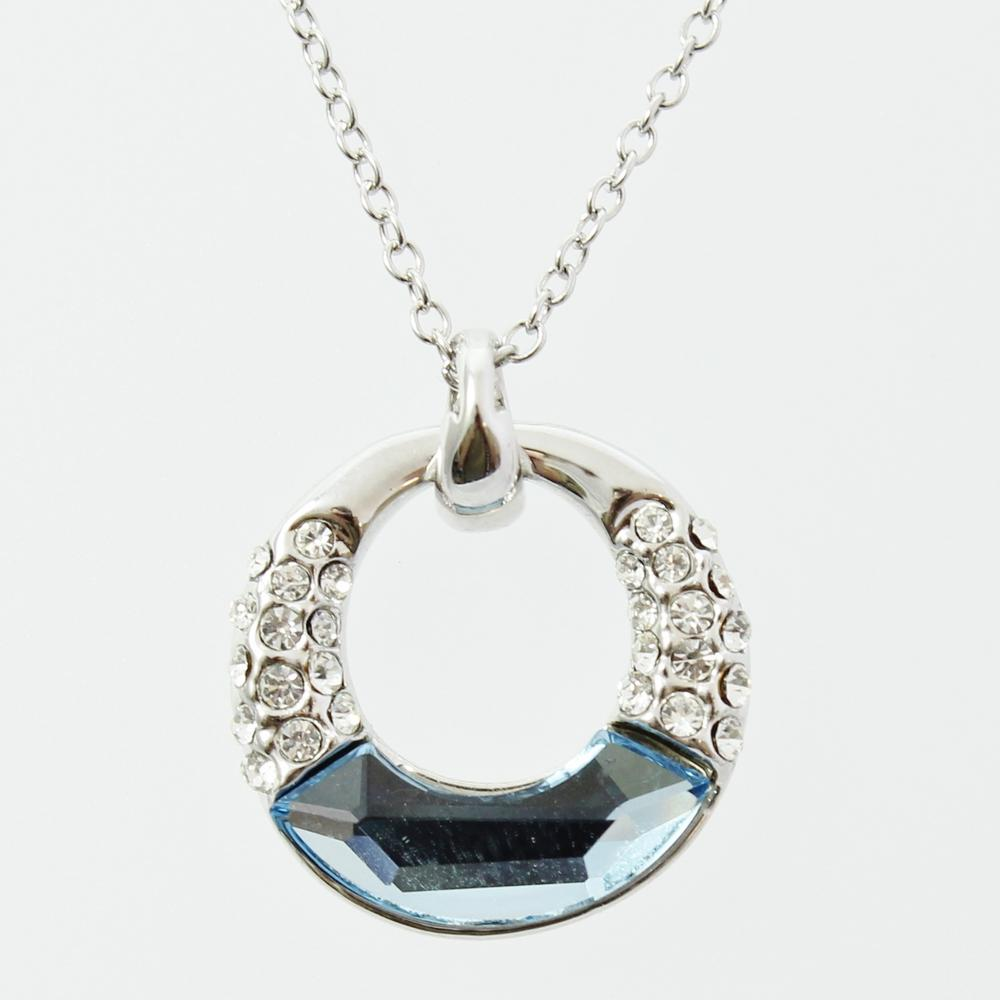 Pure By Coppercraft Swarovski Diamante Pendant Necklace  - Perfect Gift