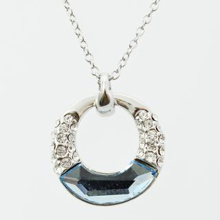 Pure By Coppercraft Swarovski Diamante Pendant Necklace  - Perfect Gift Thumbnail 1