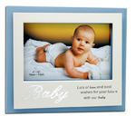 Lots Of Love And Best Wishes For Your Future With Our Baby Blue Boy Frame 6 X 4