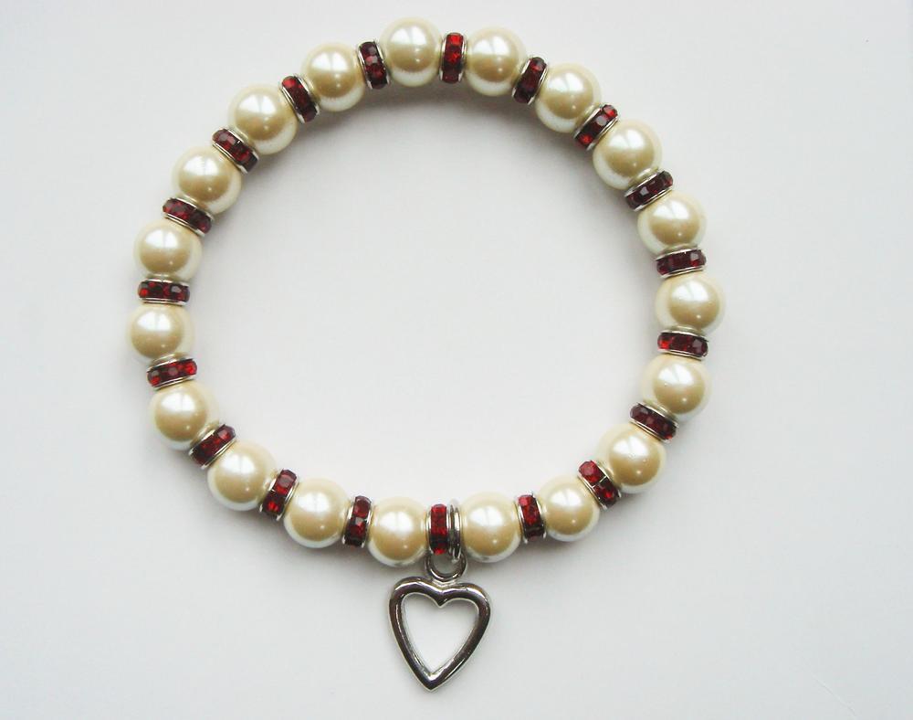 Pure By Coppercraft Birthstone Magnetic Hematite Bracelet - January