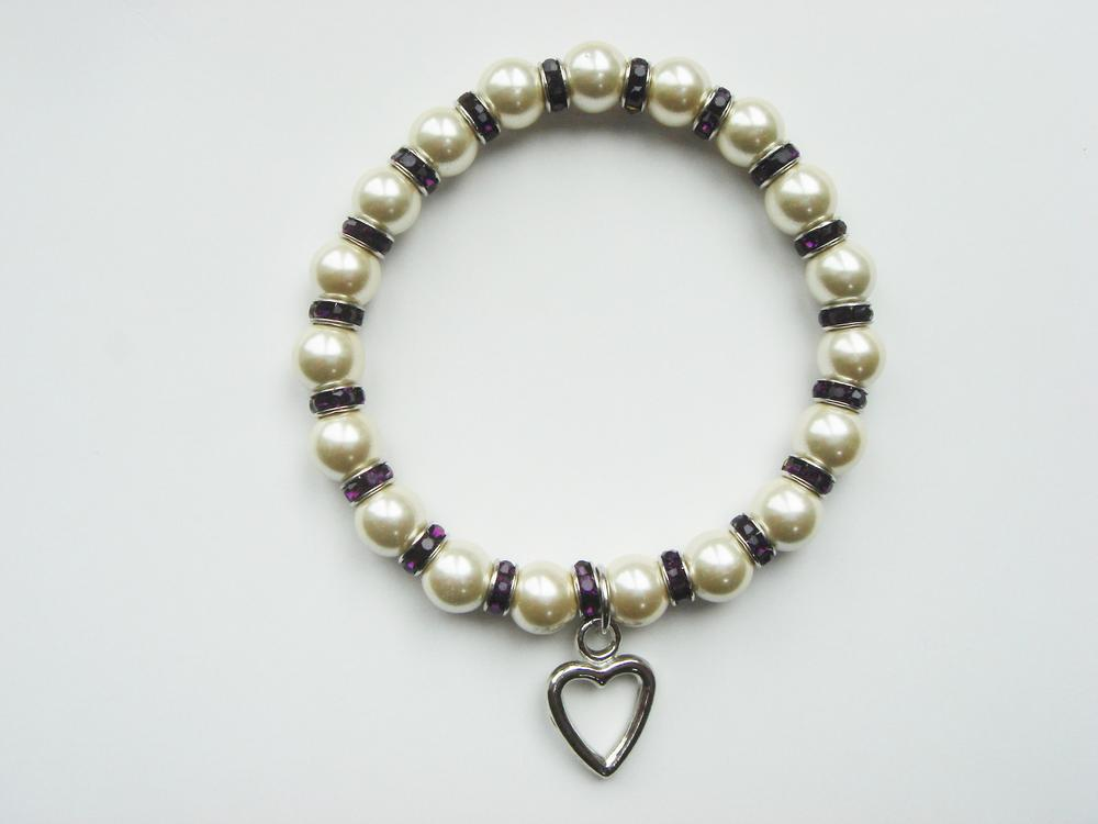 Pure By Coppercraft Birthstone Magnetic Hematite Bracelet - February