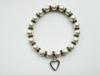 Pure By Coppercraft Birthstone Magnetic Hematite Bracelet - February Thumbnail 1