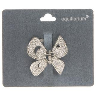 Large Crystal Butterfly Hair Clip Thumbnail 1
