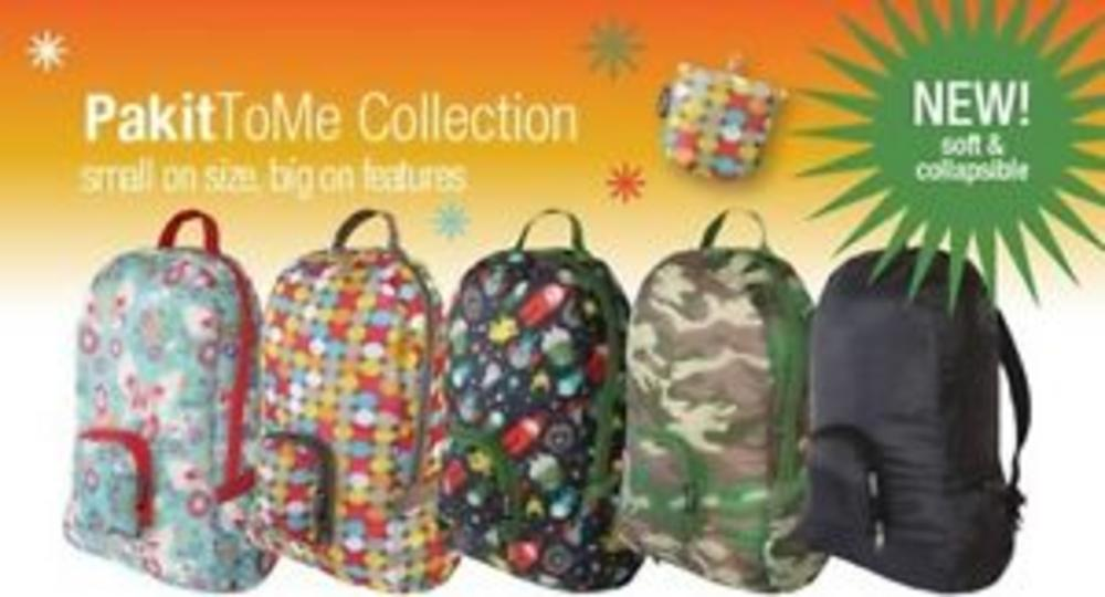 Eco Friendly Reusable Backpack - Mix & Match Collection