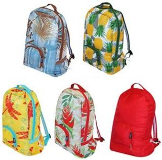 Eco Friendly Reusable Backpack - Hawaiian Collection Thumbnail 1