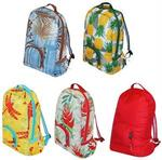 Eco Friendly Reusable Backpack - Hawaiian Collection