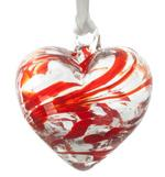 The Milford Collection Birthstone Handmade Glass Hearts