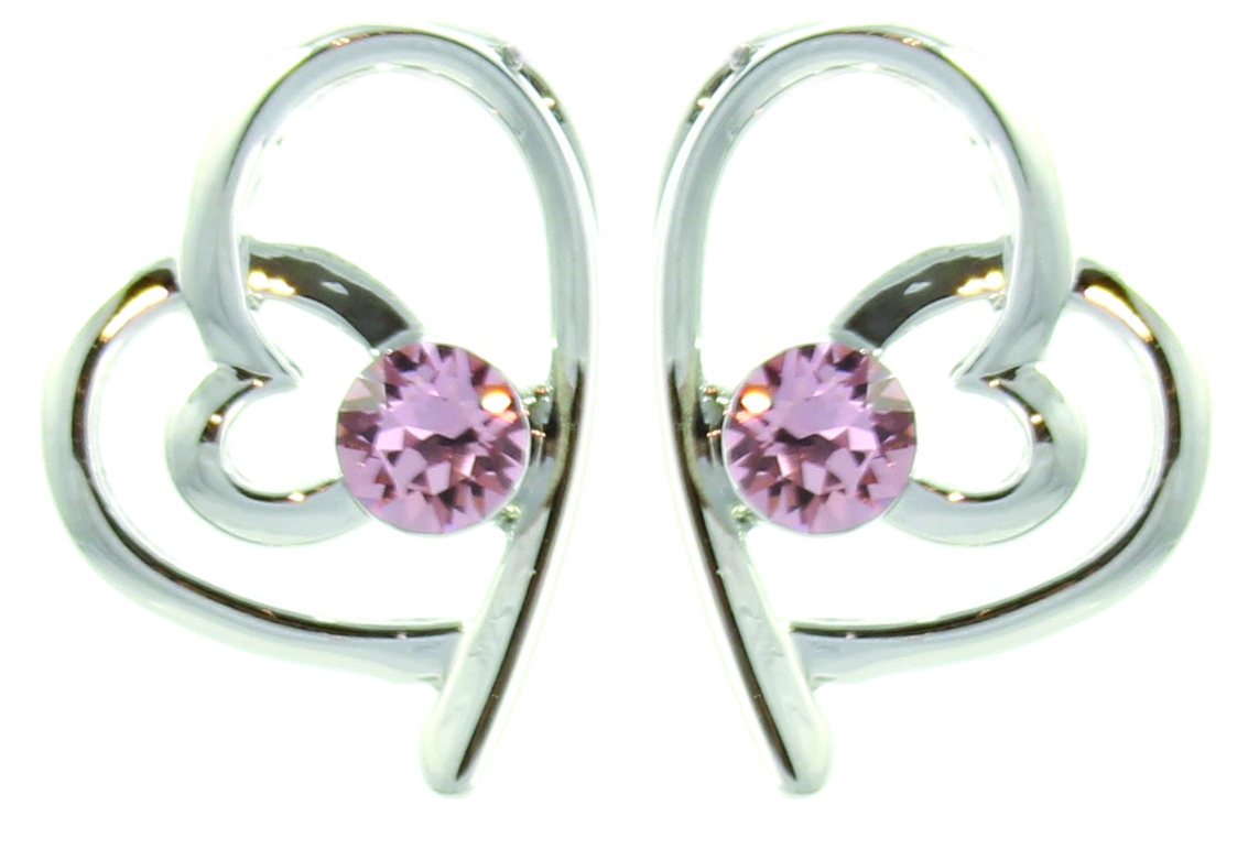 Sentinel Pure By Coppercraft Swarovski Birthstone Earrings Perfect Gift