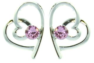 Pure Swarovski Birthstone Earrings Thumbnail 1