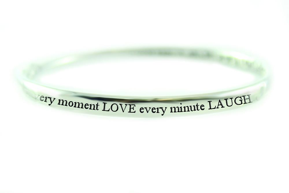 Pure Sentiment Bracelet - Live, Love, Laugh