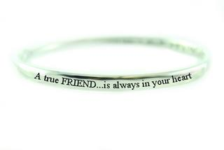 Pure Sentiment Bracelet - A True Friend Thumbnail 1
