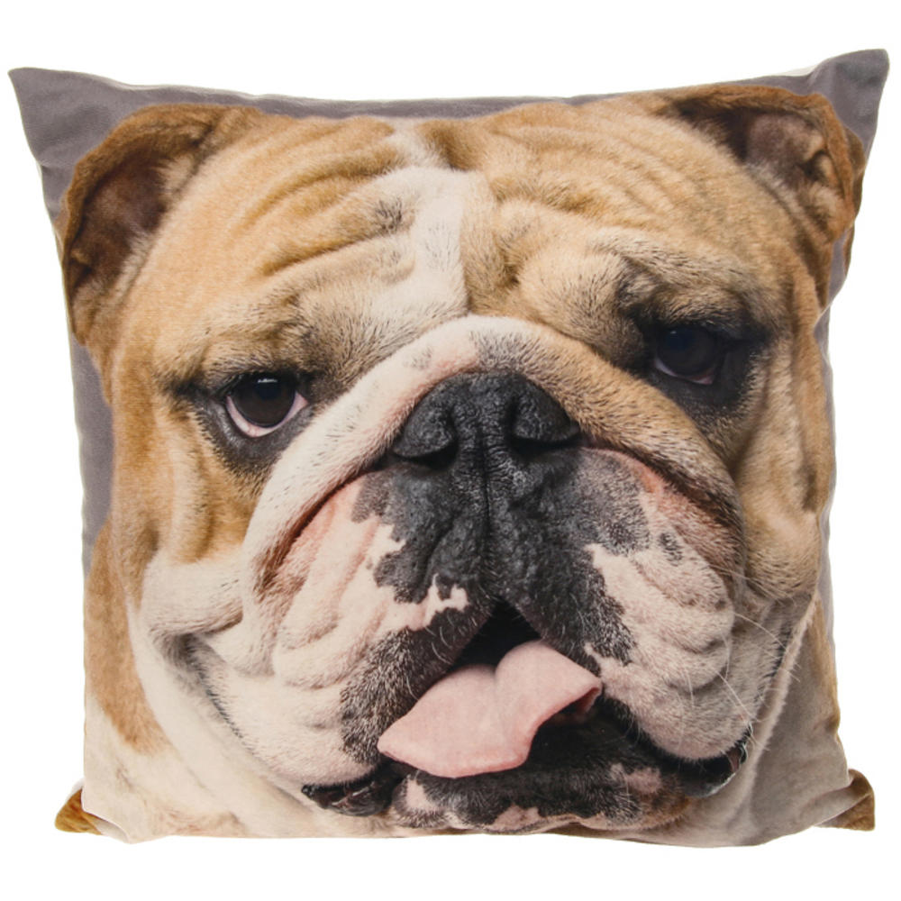 Bulldog Design Cushion