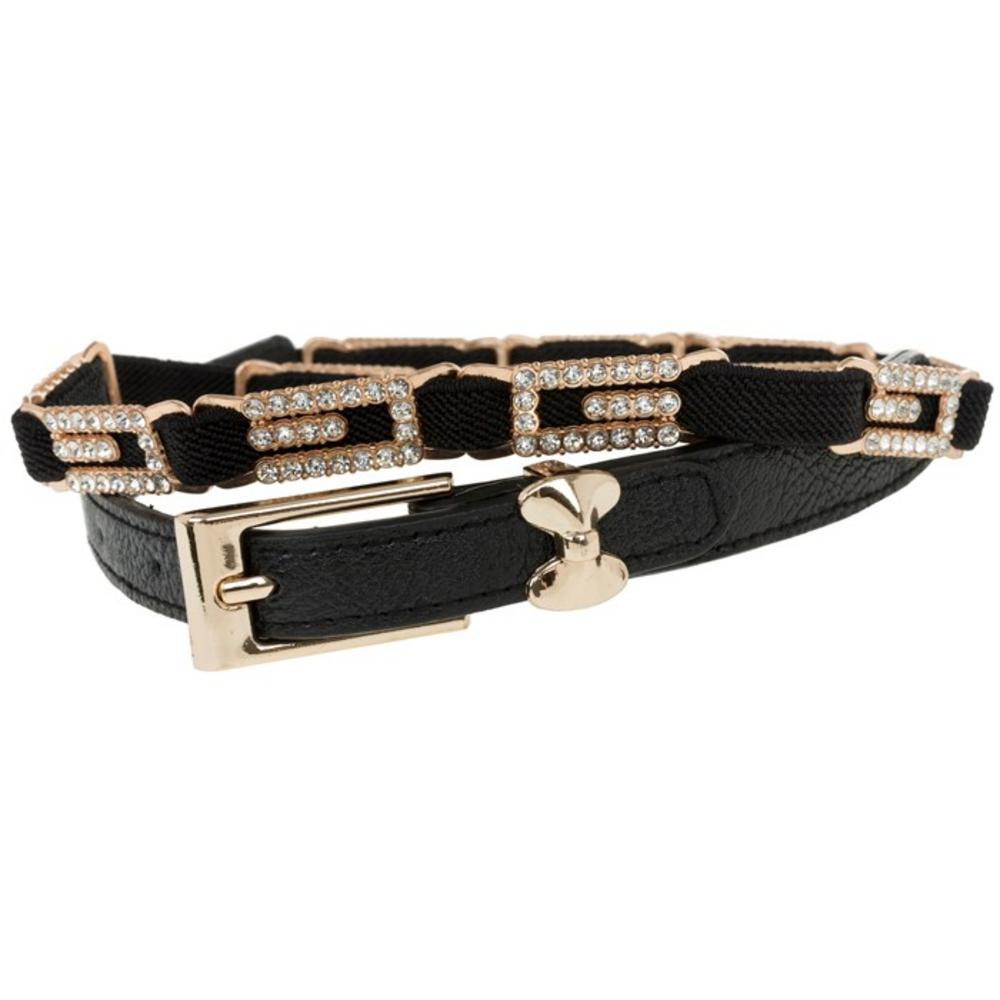 Three Line Jewelled Belt