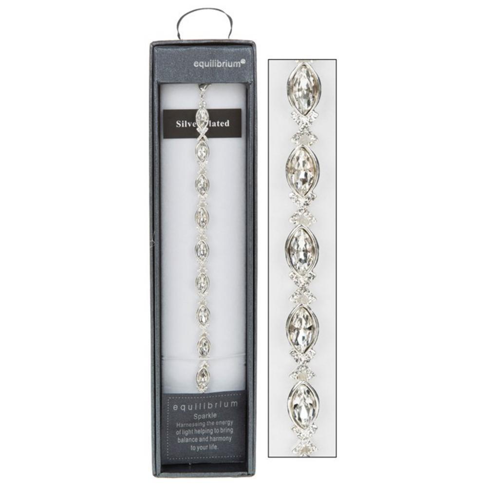 Clear Crystal Kiss Bracelet