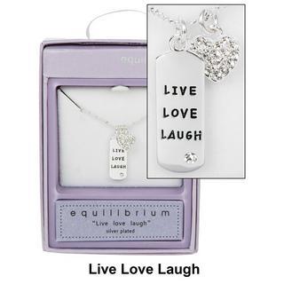 Live Love Laugh Necklace Thumbnail 1