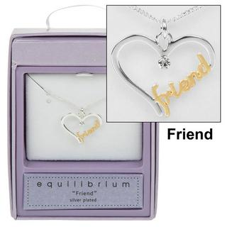 Friend Script Necklace Thumbnail 1