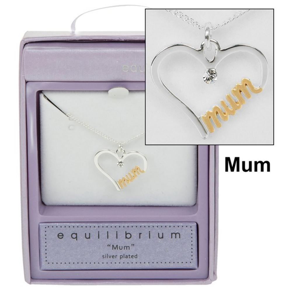 Mum Script Necklace