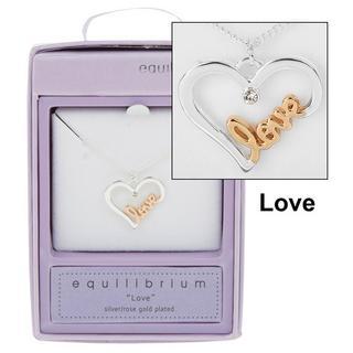 Love Script Necklace Thumbnail 1