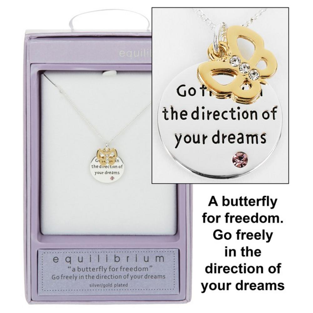 Go in the Direction of your Dreams Necklace