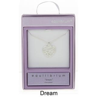 Dream Silver Plated Necklace Thumbnail 1