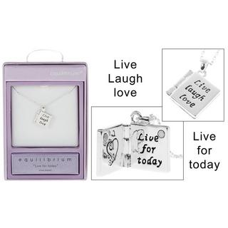 Book Charm Live Necklace Thumbnail 1