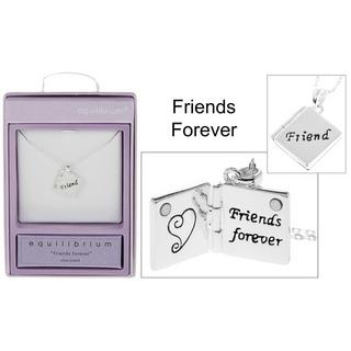 Book Charm Necklace Friends Forever Thumbnail 1