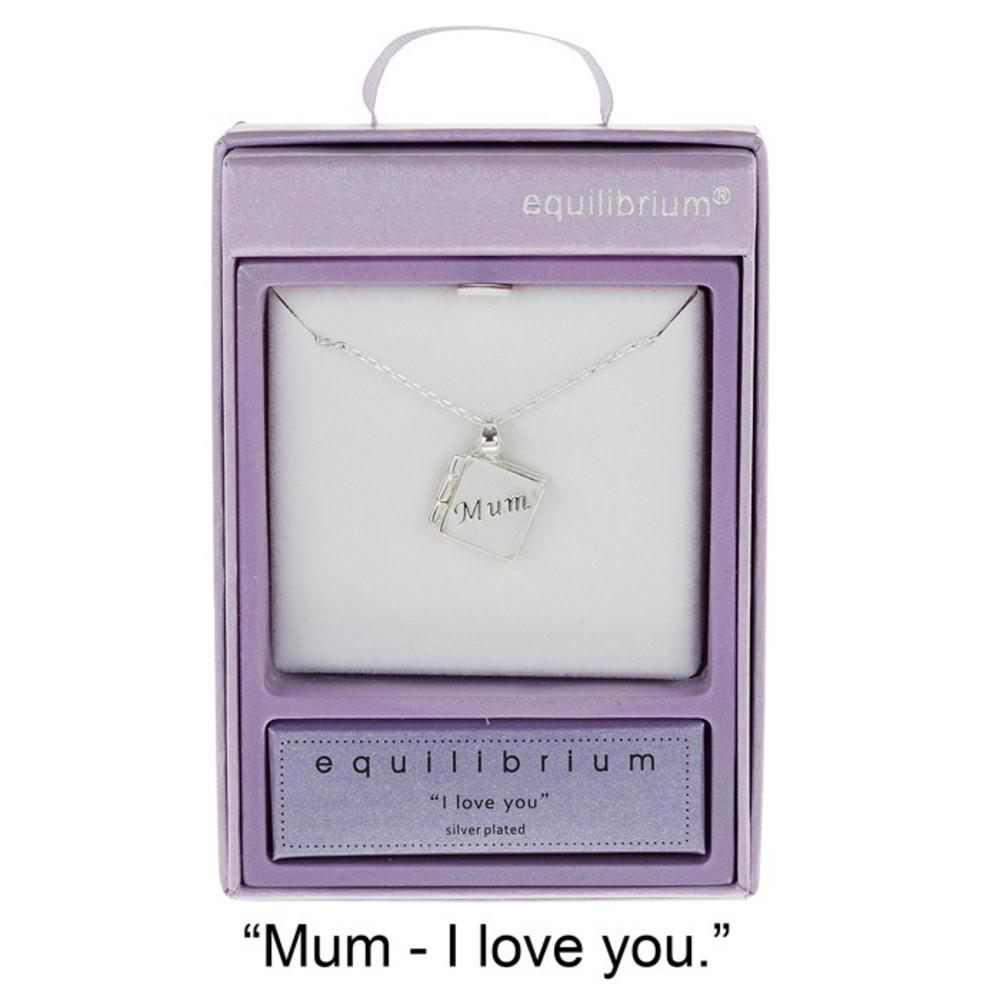 Mum I Love You Necklace