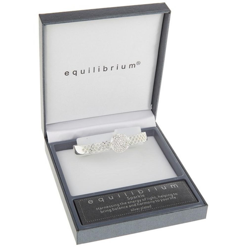 Large Diamante Heart Bracelet