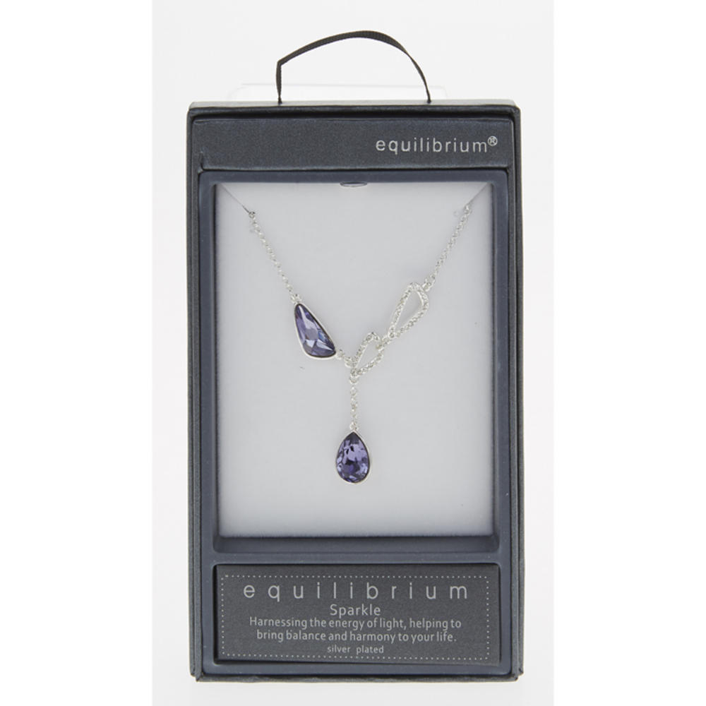Lilac Dangly Necklace